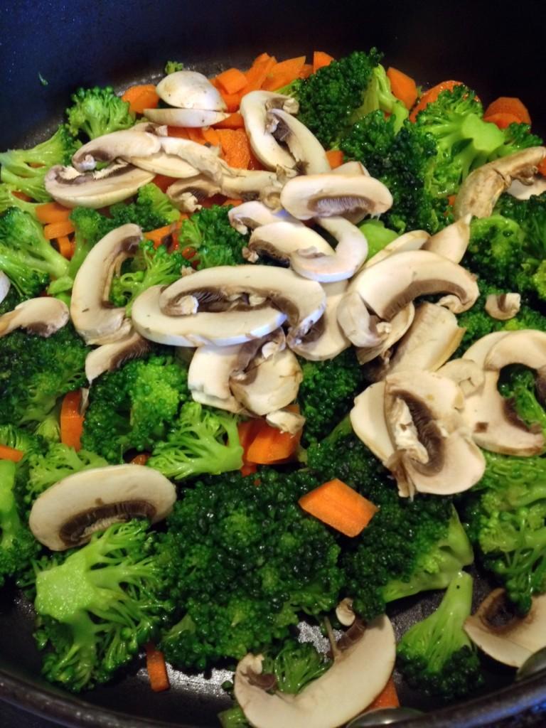 Salmon Stiry Fry Vegetables