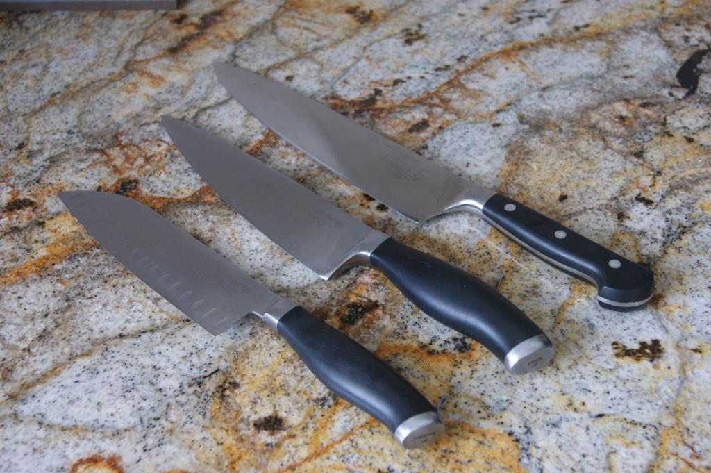 A sharp knife is a safe knife..