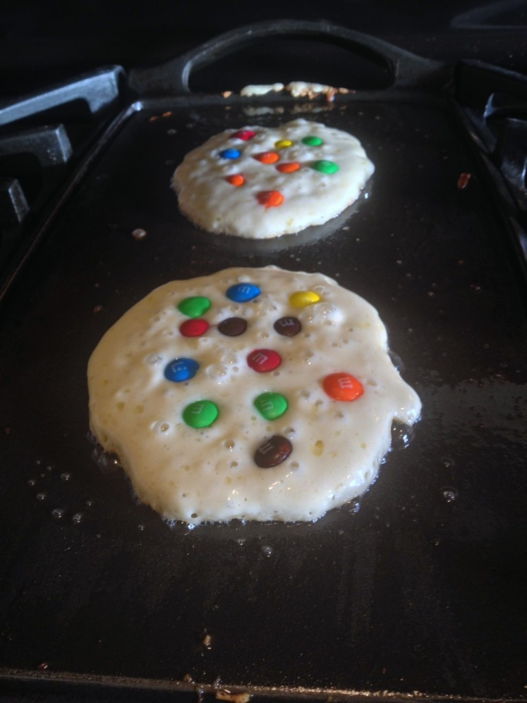 M&M Pancake