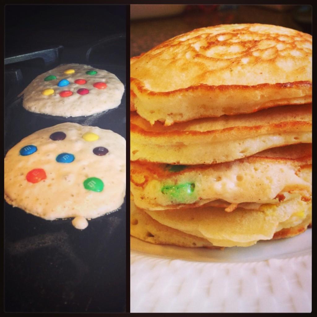 M&M's Pancakes