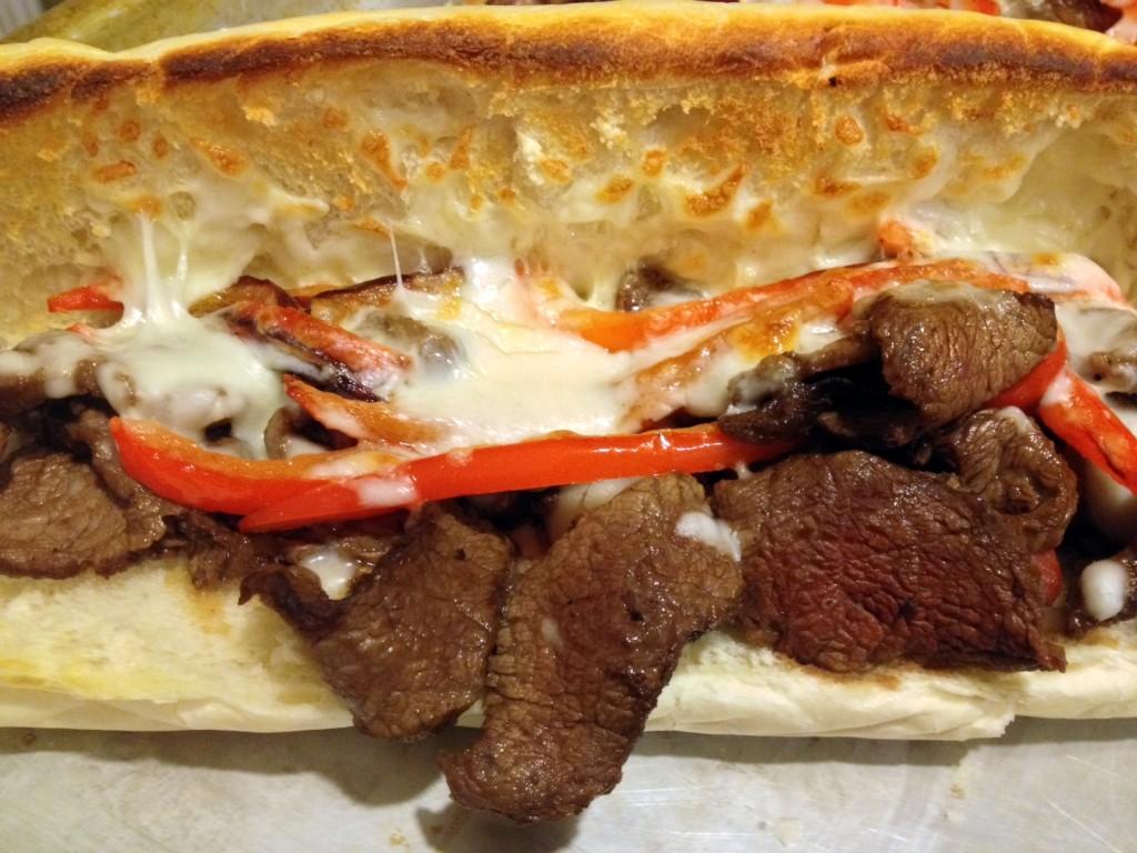 Cheesy Steak Sandwiches