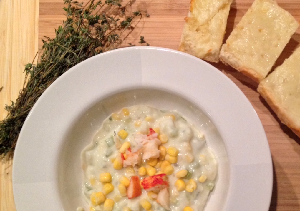 Lobster and Potato Chowder