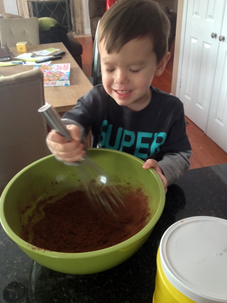Recruit the best sous chef money can buy to help with the whisking...