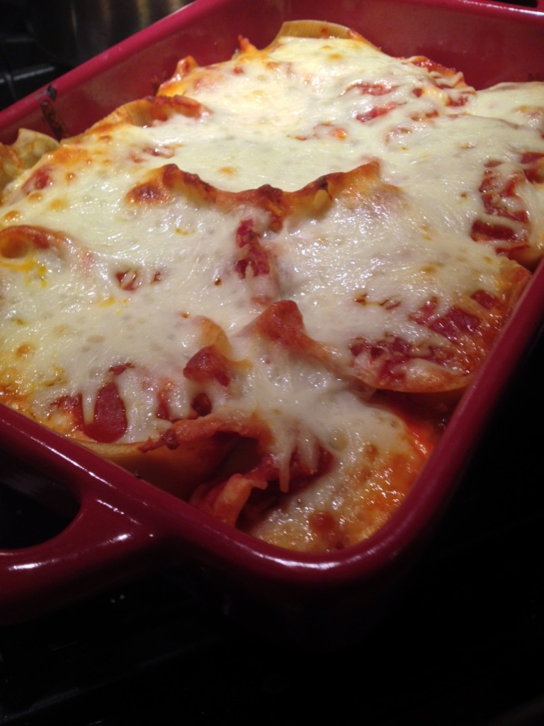 Pork and Ricotta Stuffed Shells