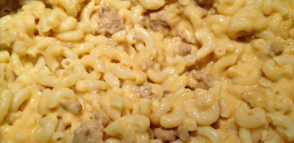 Easy Cheesy Beefy Homemade Macaroni