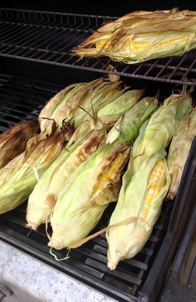Grilled in Husk Corn on the Cob