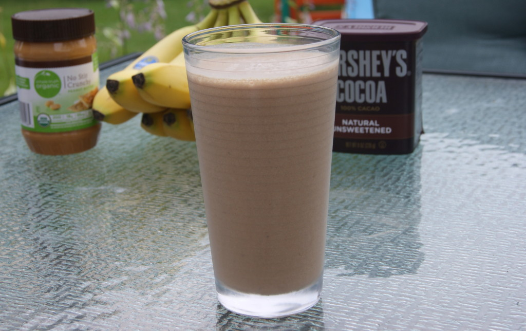 Butterfinger Banana Smoothie