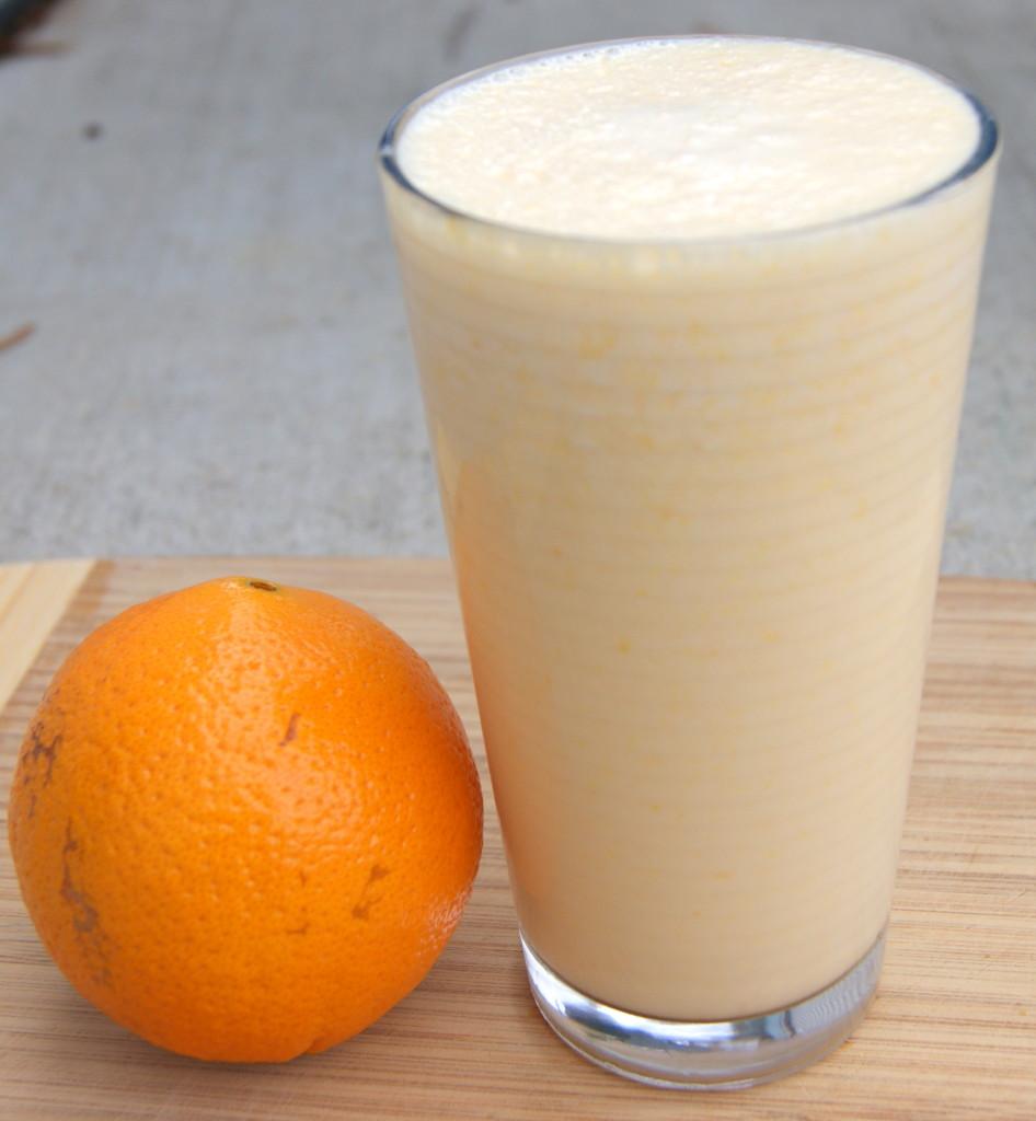 Fresh Orange Cream Smoothie