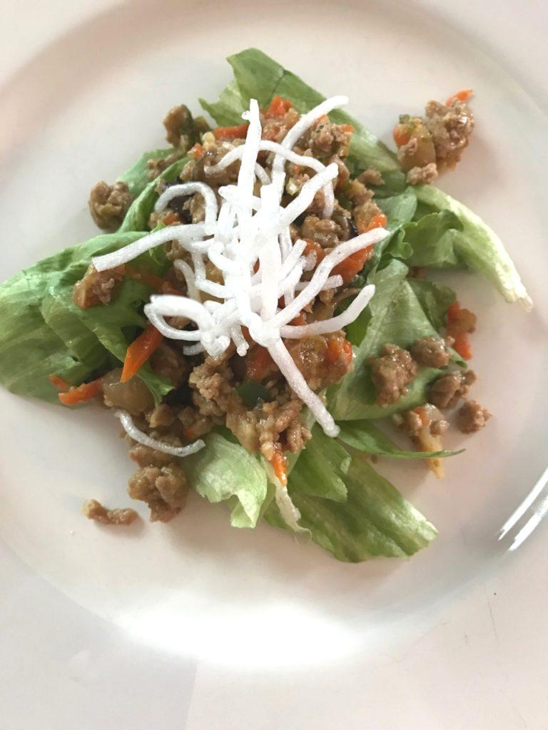 Restaurant Style Lettuce Wraps