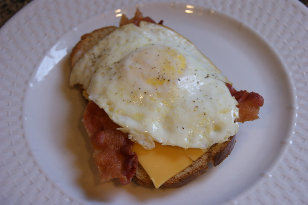 Overeasy Egg and Bacon Sandwiches | Fit Chef Chicago