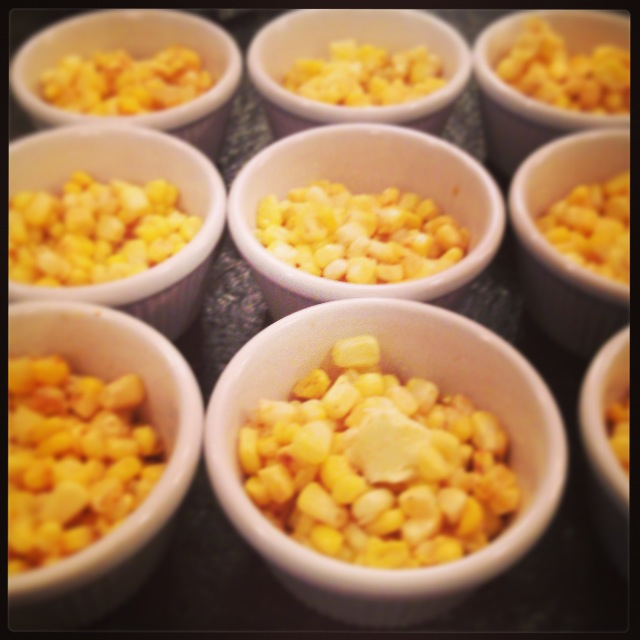 roasted the corn on the cob, then removed the kernels and tossed ...