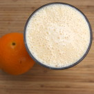 Fresh Orange Cream Smoothie