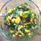 Roasted Poblano and Corn Salsa