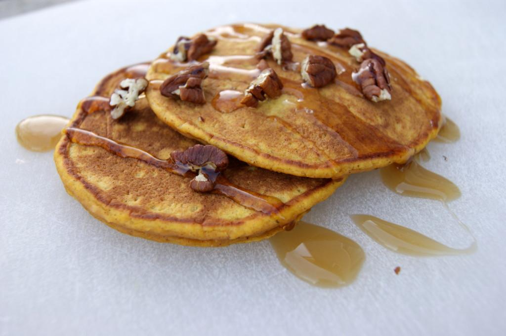 Pecan Pumpkin Pancakes | Fit Chef Chicago