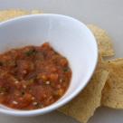 Roasted Tomato and Jalapeno Salsa