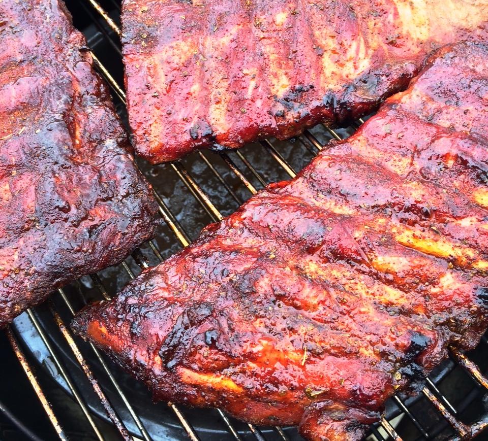 Bill's Smoked BBQ Baby Back Ribs Recipe — Dishmaps