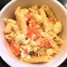 Cauliflower and Carrot Penne
