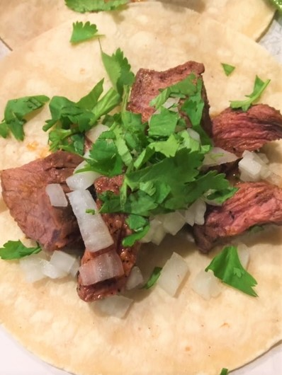 Simple Steak Tacos
