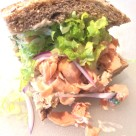 Easy Roasted Salmon Sandwiches