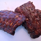Baby Back Ribs with Tangy Homemade BBQ Sauce