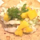 Grilled Tilapia Tacos with Mango Jalapeno Salsa